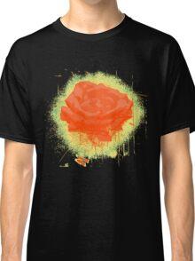 Vintage Red Rose Fine Art Tshirt Classic T-Shirt