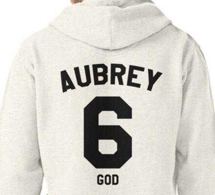"""Drake Jersey """"Aubrey"""" Pullover Hoodie"""
