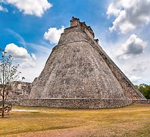 Pyramid Of The Magician - Uxmal, Mexico by Mark Tisdale