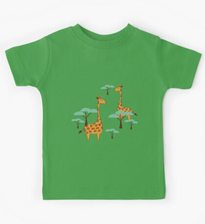 Giraffes Kids Tee