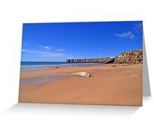 Praia da mareta Greeting Card