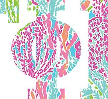 Gamma Phi Beta Letters in Lilly by emilystp23