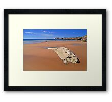 Praia da Mareta ii Framed Print