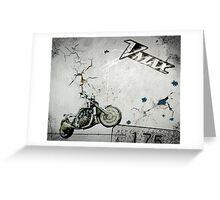 V-Max 1700  Greeting Card