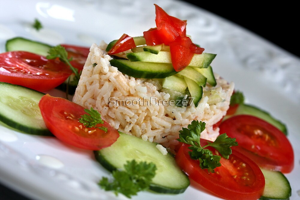 Summer Salad With Rice by SmoothBreeze7