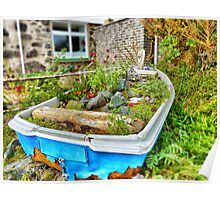 Garden Boat Poster