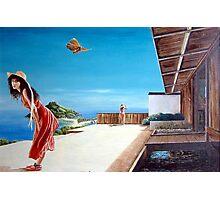 The Villa at Bourani - 1986 Photographic Print