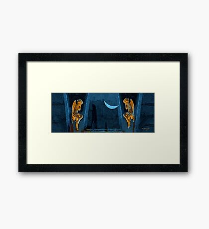 Weeping for the World Framed Print
