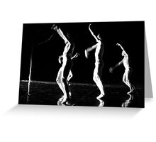 Dance Theater 6 Greeting Card