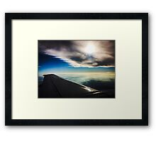 Wings of a prayer Framed Print