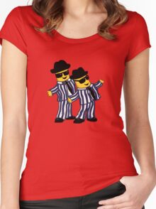 Blues Bananas Women's Fitted Scoop T-Shirt