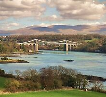 Menai Bridge by Blessedwalnut