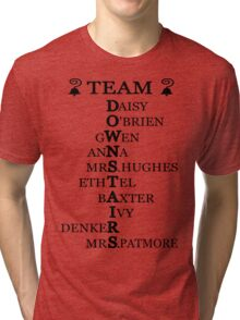 Team Downstairs (Girls) Tri-blend T-Shirt