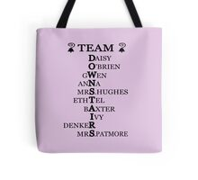 Team Downstairs (Girls) Tote Bag