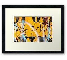 YEBOUD Framed Print