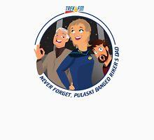 Trek.fm: Pulaski (Light) Unisex T-Shirt