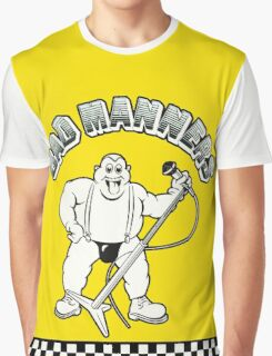 BAD MANNERS Graphic T-Shirt