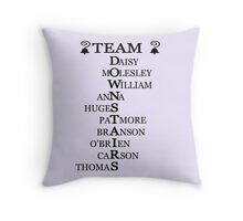 Team Downstairs (Originals) Throw Pillow