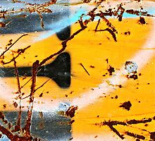 Blue Sprayed Bud by Vikki-Rae Burns