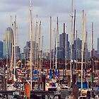 Cluttered Melbourne by TJSPictures
