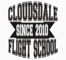 Cloudsdale Flight School (Black) by Pegasi Designs