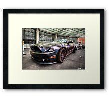 Shelby GT500KR Framed Print