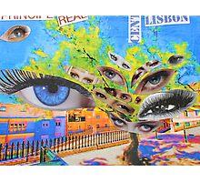 Prince's eyes. Príncipe Real. Lisboa Photographic Print