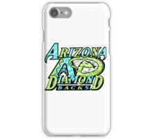 DIAMONDBACKS WHITE iPhone Case/Skin