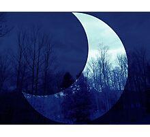 Crescent Moon Photographic Print