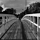 Wooden bridge by Teemu