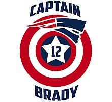 Captain Brady Photographic Print