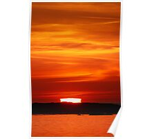 Sunset from Arisaig. Poster