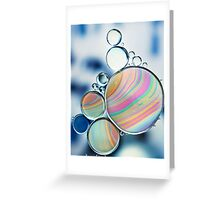 oil and water Greeting Card