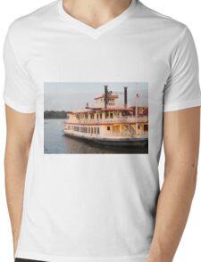 Mark Twain Mens V-Neck T-Shirt