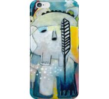 The Ghost and the Bear iPhone Case/Skin