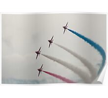 R.A.F Red Arrows Poster