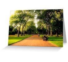 Kensington Gardens  Greeting Card