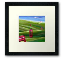 THE CALL OF THE HILLS Framed Print