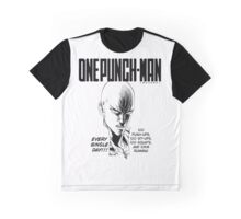 Saitama - One Punch Man Graphic T-Shirt