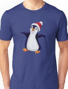 Happy Holidays Penguin Unisex T-Shirt
