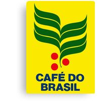 CAFE DO BRASIL Canvas Print