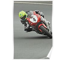 Cameron Donald at the TT 2012 Poster