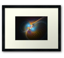 Echoes in Times Framed Print