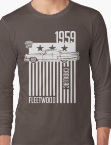 1959 Cadillac Sixty Special Fleetwood illustration Long Sleeve T-Shirt