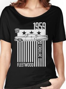 1959 Cadillac Sixty Special Fleetwood illustration Women's Relaxed Fit T-Shirt