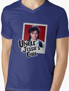 Uncle Jessie's Girl Mens V-Neck T-Shirt
