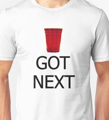 GOT NEXT - Beer Pong Unisex T-Shirt