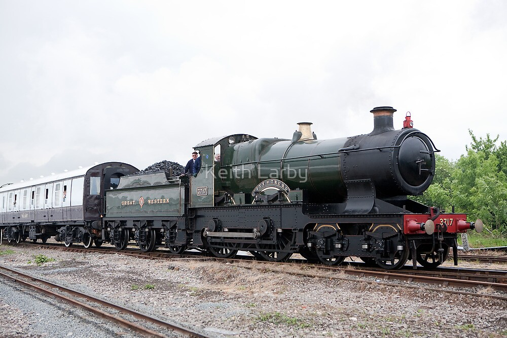 GWR 3700 Class 3440 City of Truro by Keith Larby