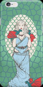 Dany Targaryen  by FlowerFace