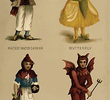Fancy dresses described or What to wear at fancy balls by Ardern Holt 312 Maltese Water Carrier Butterfly Red Riding Hood Goblin by wetdryvac